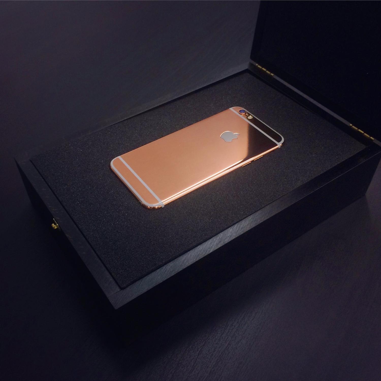 Iphone  Plus Gold Atandt